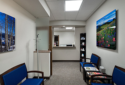Eagle-Summit Foot & Ankle Avon office interior