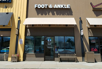 Eagle-Summit Foot & Ankle Frisco office exterior