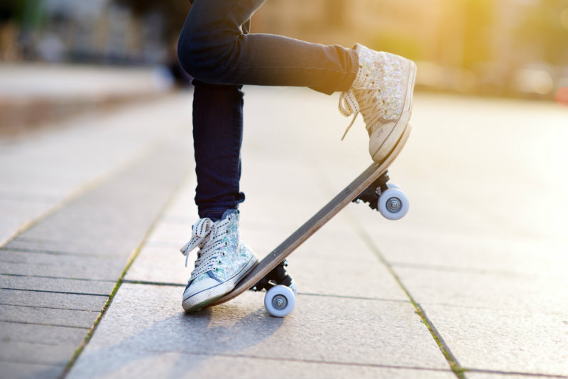 Skateboarding and Your Feet